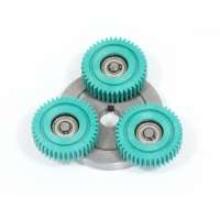 Муфта с шестернями для моторов 500-1000Вт